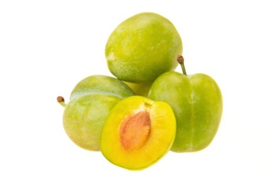 NEW ZEALAND GREEN GAGE PLUMS